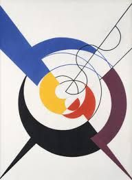 From Galerie Zlotowski, Sophie Taeuber-Arp, Construction dynamique Oil on canvas, × 32 cm Jean Arp, Arte Madi, Sophie Taeuber Arp, Dada Artists, Dada Movement, Lawrence Lee, Hans Richter, Francis Picabia, Abstract Geometric Art