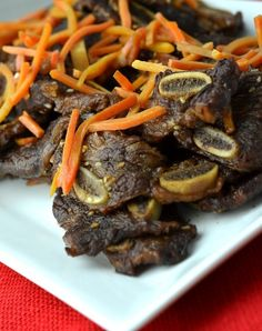 These instant pot Korean short ribs are packed with flavor but are so easy to make. A delicious blend of sweet and tangy, they are finger-licking good.