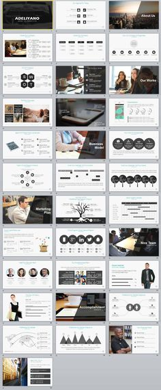 34+ Business Report Powerpoint Templates | The highest quality PowerPoint Templates and Keynote Templates download