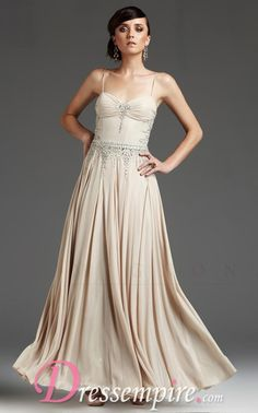 Champagne Dress:  Mignon VM943 Dress | DressEmpire.com Bridesmaids?