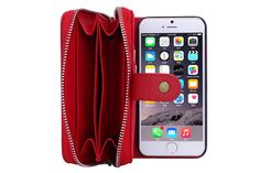 Modische Leder Handy Schutz Handyhülle mit Seil für iPhone 5/5S/6/6 Plus und…