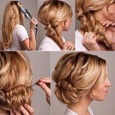 Wish I could do a decent hair bun.