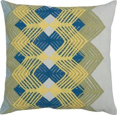 """cool chevron 20"""" outdoor pillow in outdoor accessories 