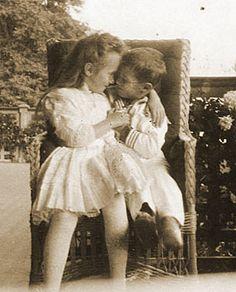 Anastasia and Aleksey at Livadia