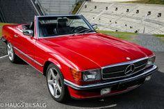 Mercedes-Benz SL 300SL R107 med lav KM og historikk! 1986, 127200 km, kr 228888,-