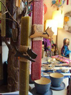 GECKO THESSALONIKI Thessaloniki, Xmas, Candles, Spring, Easter Activities, Christmas, Navidad, Candy, Noel