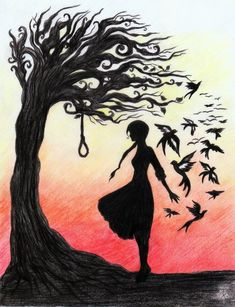 Hunger Games {Fan Art} | 'The Hanging Tree' by La-Chapeliere-Folle on deviantART.