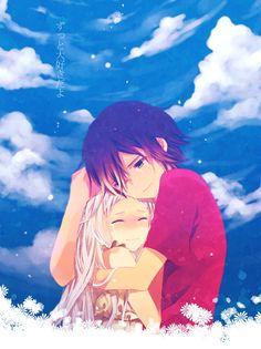 «anime, menma, and anohana Anime Love, Manga Love, Sad Anime, Manga Anime, Fanart Manga, Anime Art, Otaku, Anime Kawaii, Anime Cosplay