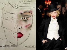 Ageless Beauty Tips Steal- Madonna's makeup at the MDNA Tour documentary premiere