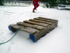 Pallet Snow Sledge