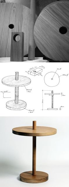 Max Lamb's Round and Round Table, Borne of an Unusual Tool