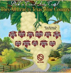 Visit Texas Wine Country | Pick a trail any trail!
