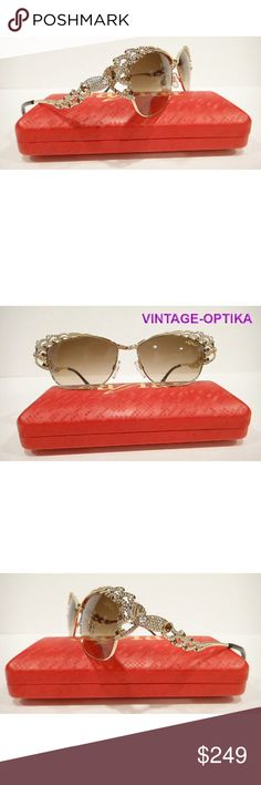 a150aba91193 CAVIAR 5594 SUNGLASSES GOLD (C16) CRYSTAL STONES These are 100% Genuine