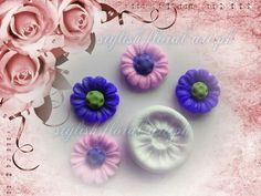 Small size Lovely Flower Mold Best for jewellery  https://www.facebook.com/StylishFloralArt