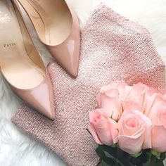 All blush everything. // Follow /ShopStyle/ on Instagram to shop this look