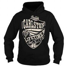 I Love Team CARLSTON Lifetime Member (Dragon) - Last Name, Surname T-Shirt T shirts
