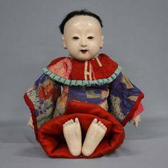明治期 市松人形