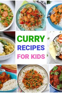 You might not necessarily associate curry recipes with kids, but mild curry recipes can be a great way to introduce new flavours to kids and expand their palate. Our collection of recipes are all mild enough for children without compromising on taste so perfect for adults too! Theses recipes are all easy to make and do not require hours of marinating or require you to buy hard to find ingredients! Fussy Eaters, Picky Eaters, Easy Family Meals, Kids Meals, Mild Curry Recipe, Batch Cooking, New Flavour, Fruit And Veg, Curry Recipes