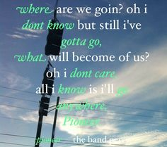 pioneer - band perry