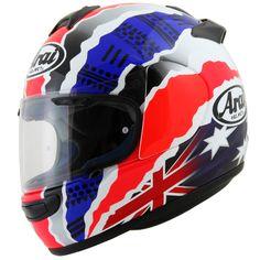 Casque moto Arai Chaser V Doohan - 539,10 € livré le moins cher #Rouge #bleu #blanc
