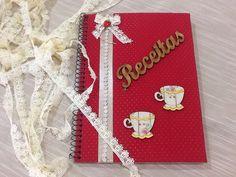 Caderno para receitas!!!!!