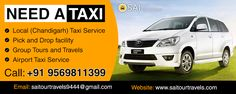 Whether looking for local ‪#‎carrental‬ or outstation ‪#‎taxiservice‬. Book your ‪#‎taxi‬ in ‪#‎chandigarh‬ ‪#‎mohali‬ ‪#‎panchkula‬ ‪#‎kharar‬