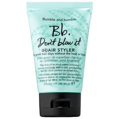 Don't Blow It - Bumble and bumble | Sephora