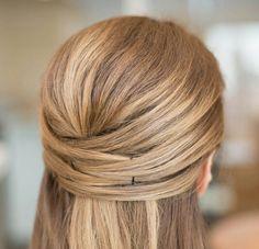 Cute, easy hair style