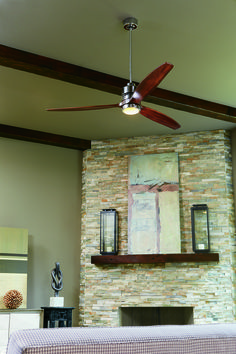 Stripped free of decorative embellishments and extraneous detail the Craftmade Sonnet ceiling fan collection beautifully & Craftmade Mondo 6-Blade Fan MND72BNK6 at Del Mar Fans u0026 Lighting ... azcodes.com