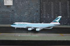 "Cathay Pacific CX B747-400 ""Last Flight""    JC Wings 1:400"