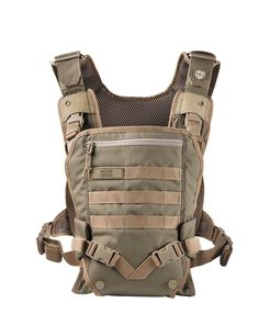 Mission Critical Tactical Front Baby Carrier, Coyote