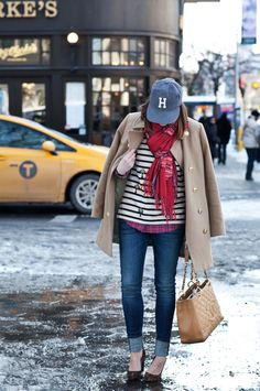 We're loving Caroline's chic casual look today on #HOUSEofHARPER!