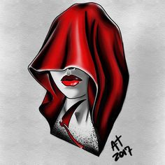 Another quick one .. Red riding hood or the reaper ? I honestly don't know but I'm cool with either one . #tattooartwork #tattooart #tattooartist #tattoodesign #tattooflash #tattoolife #tattoolove #tattoolover #womantattoo #reapertattoo #facetattoo #neotraditional #neotraditionaltattoo #neotradtattoo #ipadproart #procreateart #jerseycity #jerseycitynj #bodyartsouljc #bodyandsouljc