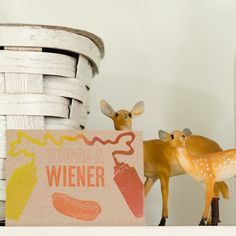 """Sometime you need a little fun! We have these post cards up on the site. http://ift.tt/1MacnTE #livefolk #liveauthentic @folkmagazine. Tag someone that you think is a """"wiener"""" by folkmagazine"""