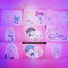 I should start drawing again✐✎✏ . . . . . . . . . #littletwinstars #pokemon #adventuretime #rilakkuma #sailormoon #self #selfportrait #pastel#dezzywants2battle#art #chibi #kawaiianime #kawaii #original #fanart #inuyasha #stickers
