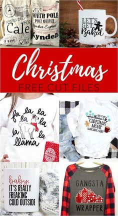 Free Christmas Cut Files is part of DIY decor Crafts - From holiday mugs and funny shirts, to cookie plates and home decor, get your craft on and make a Cricut Christmas project Preschool Crafts, Fun Crafts, Diy And Crafts, Crafts For Kids, Holiday Crafts, Creative Crafts, Vinyl Crafts, Spring Crafts, Holiday Fun