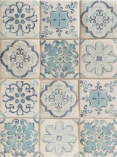 Walker Zanger Lisbon Decorative Field--love the variety