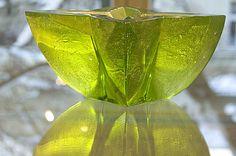 váza Hvězda, tavené sklo