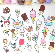 Dessert doodles