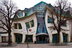 Uma casa distorcida, na Polônia