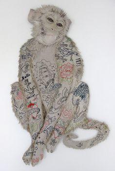 Textile artist Karen Nicol pearl e A baptism of fire: An interview with brmixed media textile artist Karen Nicol