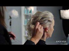 How to: Romantisk oppsatt hår på 1 - 2 - 3 (up do) - YouTube