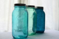 Mason Jars, Half Gallon Size for the pantry!