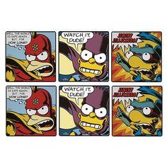 Porta Copos Simpsons Bartman