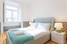 Apartment in Lisboa, Portugal. Well located luxury apartment in the Baixa Chiado area of Lisbon. First floor apartment in a newly restored building with side view to the Tagus river and lots of light. Just a short 2 minute walk to the waterfront and the Cais do Sodré station.  ...