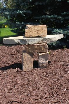 Build your own Inuksuk! An easy landscaping project that you will love!!!