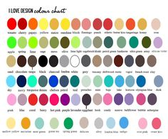 82 Best Color Wheel And Color Names Images On Pinterest Color