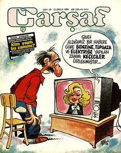 Çarşaf 1989 Sayı - 50 - Çizgi Roman Diyarı