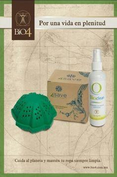 Paquete para lavado de ropa 100% ecológico. Informes fbook: /bio4mx
