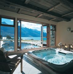 Mountain View, Blanket Bay Spa New Zealand